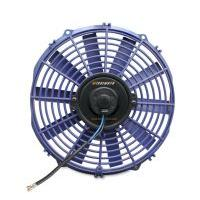 "Slim Electric 12"" Fan, Blue"